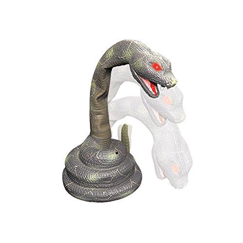 Kostüm Klapperschlange - PARTY DISCOUNT Neu Deko-Figur Klapperschlange, mit Sound