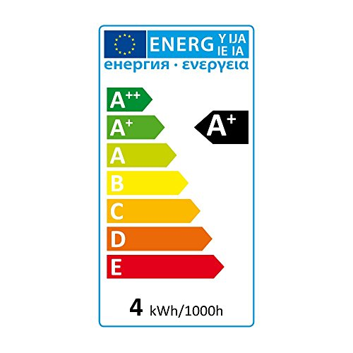 SEBSON LED Lampe GU5.3 / MR16 warmweiß 3.5W, ersetzt 35W Glühlampe, 280...