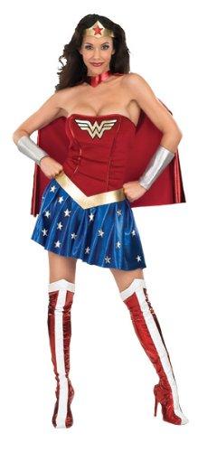 Imagen de wonder woman i 888439xs  disfraz de mujer maravilla para mujer adulto  talla xs  alternativa