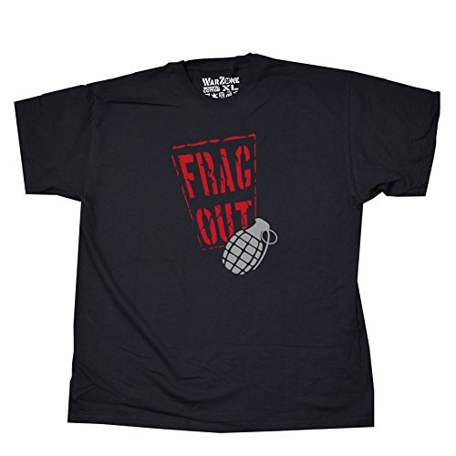 Nicram Designs Herren T-Shirt BLACK + Red Logo