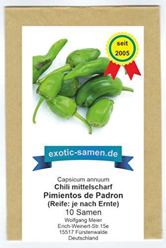 Pimiento de Padron - spanische Spezialität - 10 Samen