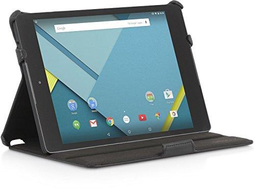 StilGut UltraSlim Case, Tasche mit Stand- und Präsentationsfunktion für Google Nexus 9, schwarz