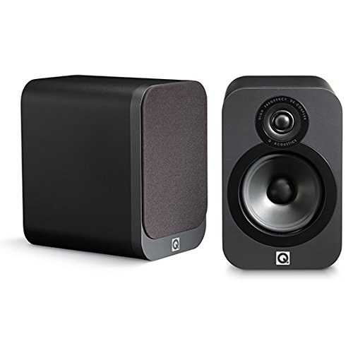 Q Acoustics 3020 Regallautsprecher graphite