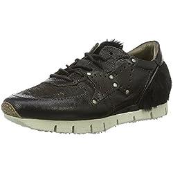 A.S.98 Damen 139109-0401 Sneakers, Schwarz (Nero), 38 EU