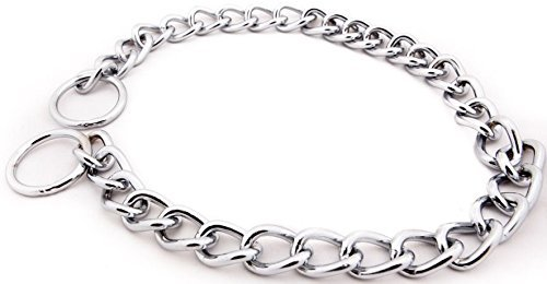 Pawzone Steel Choke Chain (Small)  available at amazon for Rs.169