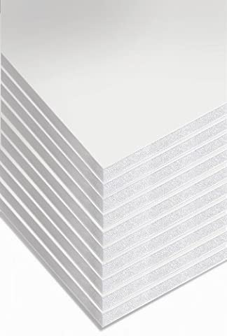 Cathedral A1 Foam Board - White (Pack of 10) 5mm thick