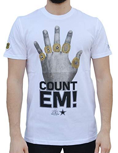 New Era Dallas Cowboys Super Bowl Rings Football NFL T-Shirt M