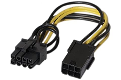 Connect PCI Express 6broches vers 8broches câble adaptateur d'alimentation