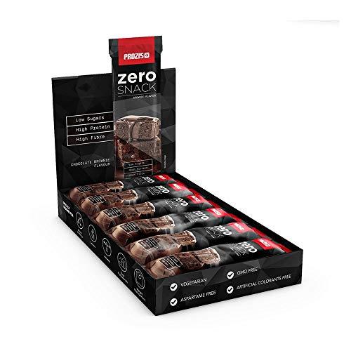 Prozis Zero Snack - Barra rico en proteína y Bajo en Hidratos de Carbono y Azúcares,...