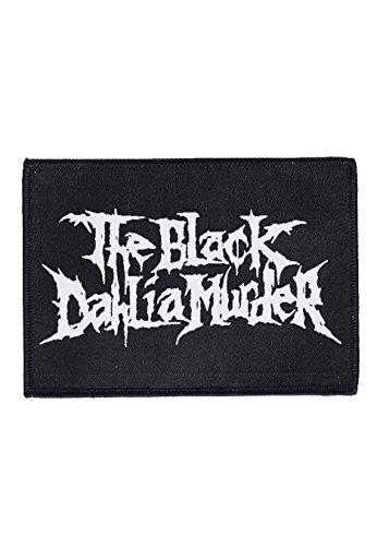 The Black Dahlia Murder-Logo-Patch nero Taglia unica