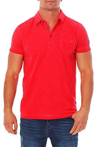 no excess Herren T-Shirt Poloshirt 640350351 in melon oder corn Melon