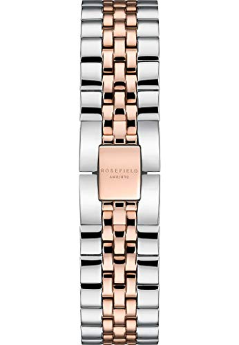 Rosefield Damen-Uhrenarmbänder One Size Silber/rosé/bicolor 32002290