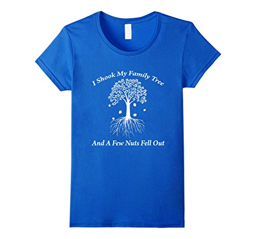 womens-funny-genealogy-tshirt-a-few-nuts-fell-from-family-tree-large-royal-blue