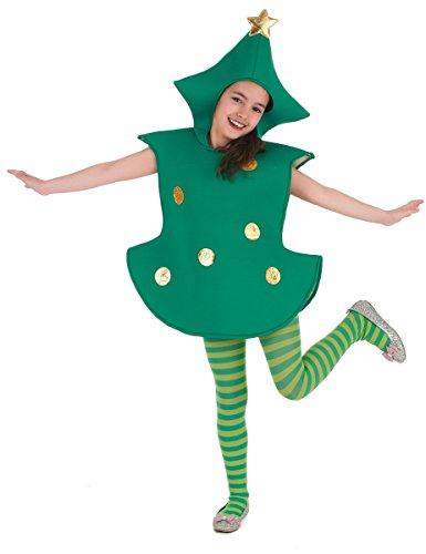Costume albero di natale per bambino 4 6 anni (104 116) a8725e95115e