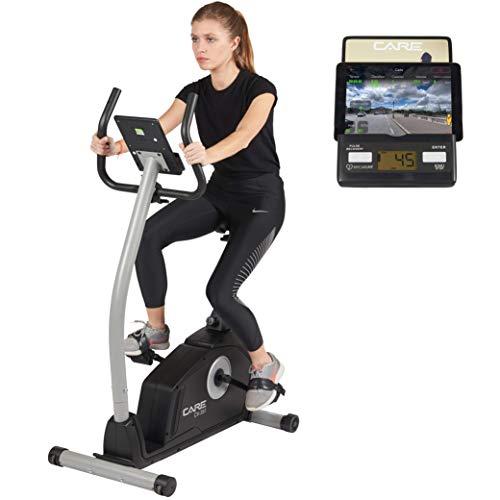 Care Fitness - Heimtrainer Fahrrad MY CARE FIT CV-351 - Hometrainer, Fitness Fahrrad, Sportgerät für Zuhause - Mit Trainingscomputer, Verstellbarer Fahrradsattel, 16 Schwierigkeitsgrade - Bis 110 kg