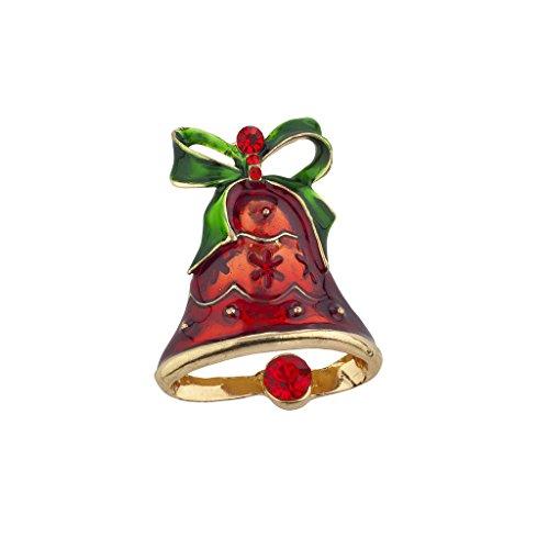 LUX Zubehör Weihnachten Urlaub Weihnachts Kirche Glocken Brosche Pin