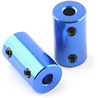 novo3d.in Motor Coupling 5 * 8mm of 30mm improved nema 17 rigid coupling for 3d printer 1/2/4 pcs. (Blue, 1)