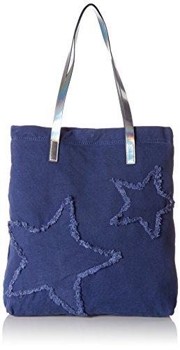 edc by Esprit 077ca1o004, Cabas femme, Blau (Ink), 10x42x36 cm (L x H P)