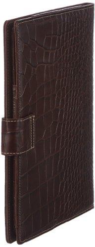 Bogner IPAD 1318228, Custodia per iPad Unisex - adulto, Nero (Schwarz (black 001)), 21 x 27 x 2 cm (L x A x P) Marrone (Braun (oak 006))