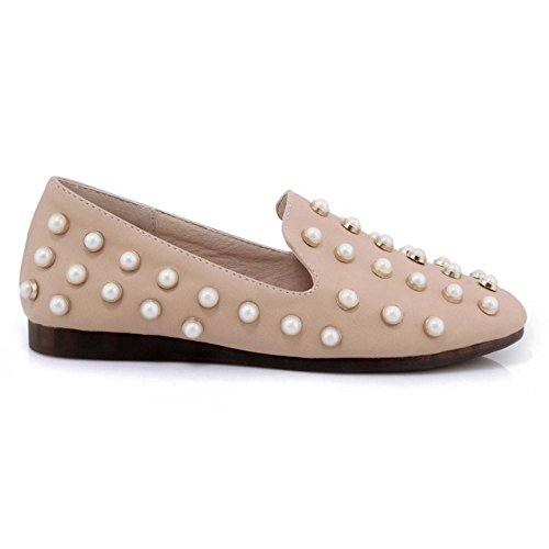 RAZAMAZA Femmes Mode a Enfiler Escarpins pink