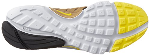 Nike Air Presto Flyknit Ultra, Chaussures de Sport Homme, 41 EU Noir - Negro (Blk / Yllw Strk-Mtllc Gld-Ntrl G)