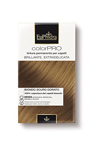 EuPhidra ColorPro Colorazione Ultradelicata colore 630 biondo scuro dorato
