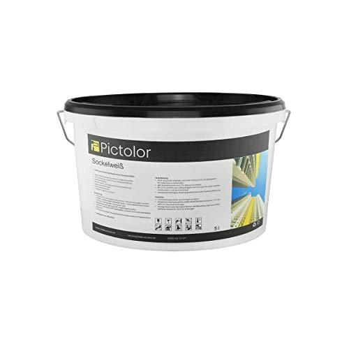 Pictolor Sockelweiß 5 Liter