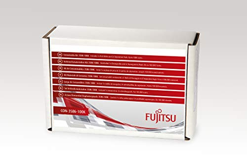 FUJITSU Includes 1x Pick Roller and 2X Separation Pads Estimated Life Up to 100K scans - Pick Roller Pad