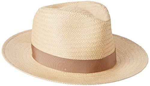 Bailey Spencer Trilby Hat, Beige (Weathered Oak), Large Homme