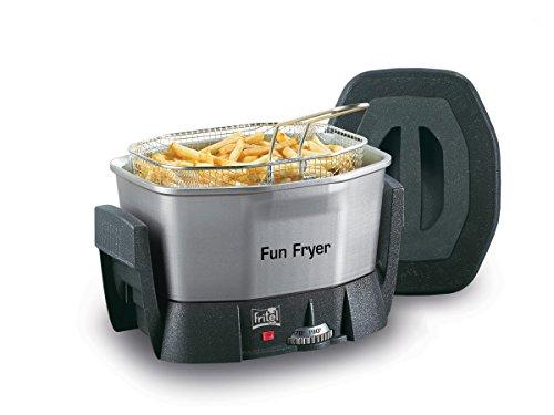 Fritel Fun Fryer FF 1200, Acero inoxidable - Freidora