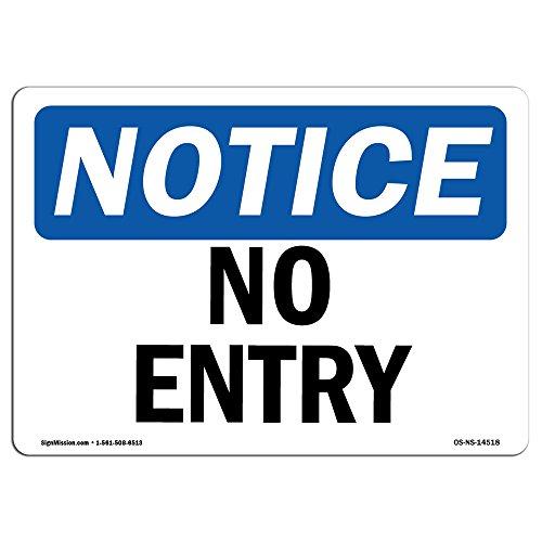 OSHA Hinweis | Heavy Duty Schild oder Label 10