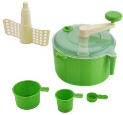 Your Choice Green Jewel Multi Purpose / Beater / Mixing bowl / Dough for Chapatti, Roti, Parathas Plastic Spiral Dough Maker (Green)  available at amazon for Rs.225