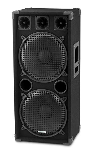 McGrey DJ-2222 Altoparlante Disco DJ-Box, 1000 W