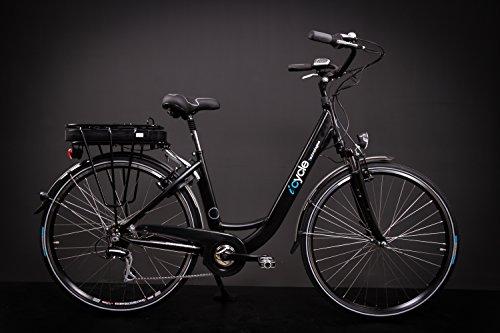 "28\"" Zoll Alu Damen Elektro Fahrrad E Bike Pedelec Shimano 8 Gang 36V 13Ah schwarz"