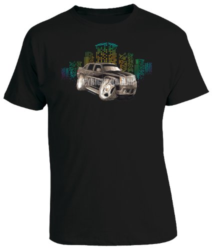 koolart-cartoon-caricature-style-of-cadillac-escalade-mens-t-shirt-black-xxx-large