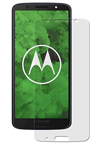 easy-top- Schutzfolie für Motorola Moto G6 Plus - 3X Antireflex Anti-Shock Bildschirmschutzfolie seidenmatte Antifingerprint Schutz Folie entspiegelte Oberfläche