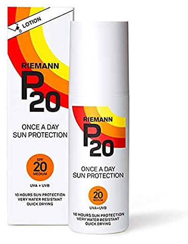 Riemann P20 Once a Day 10 Hours Protection SPF 20 Medium, 100ml