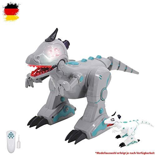 HSP Himoto RC Ferngesteuerter Dinosaurier mit Rauch Dampf-Effekt, Sound, Tanz, Auto Demo, Fernsteuerung (Roboter Kostüm Herz)