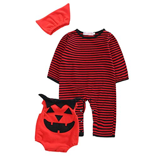 MU CHAO Kind-Halloween-Kleidungklagebaby nettes Baumwollsäuglingsjungengeschenk Cosplay Custome Pyjama Sleepwear weiche Artfestivalkleidung (Halloween Customes Baby)
