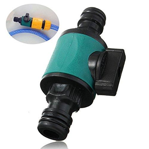 ABS Garten Ventil, faway Gartenschlauch tippen Rohr Kompatibel 1/5,1cm 2-Wege-Anschluss Ventil-Konverter Fitting Adapter Werkzeug - Ventildeckel-anschluss