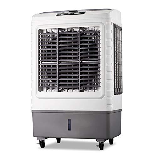 MMZZ Air Cooler 3in1 Mobile Klimaanlage, Klimagerät, Tragbarer Klimaanlagenlüfter, Verdunstungskühler, Weiß -
