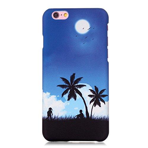 """MOONCASE iPhone 6S Coque, Ultra-Mince Anti Scratch Housse Étui Plastic Hard Shell Case Coque de Protector pour iPhone 6 / 6S 4.7"""" - A10 A09"""