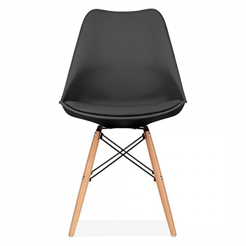 Mmilo Tulip Eiffle Inspired Dining Chair Natural Solid