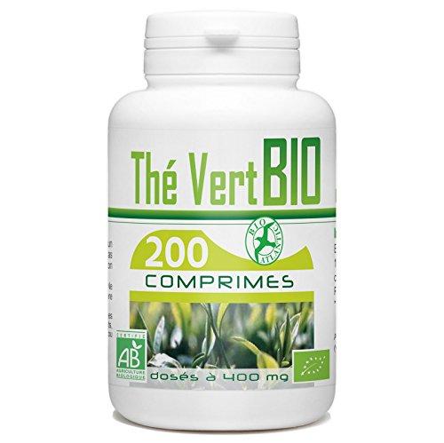 Thé Vert Bio AB 400mg - 200 Comprimés