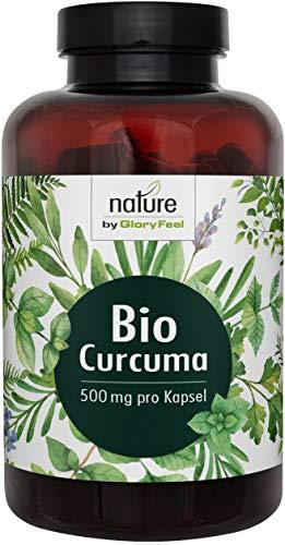 Bio Curcuma Kurkuma Plus Bio Schwarzer Pfeffer - VERGLEICHSSIEGER 2019* - 200 Kapseln mit Curcumin & Piperin - Laborgeprüft, Vegann und ohne Zusätze hergestellt in Deutschland