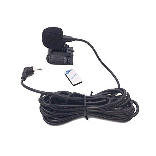 Cutogain Stereo-Mikrofon, 3,5 mm, für GPS-Player, Audio-DVD, Bluetooth, Automikrofon, für Autoradio (Dvd Stereo Alpine Car Bluetooth)
