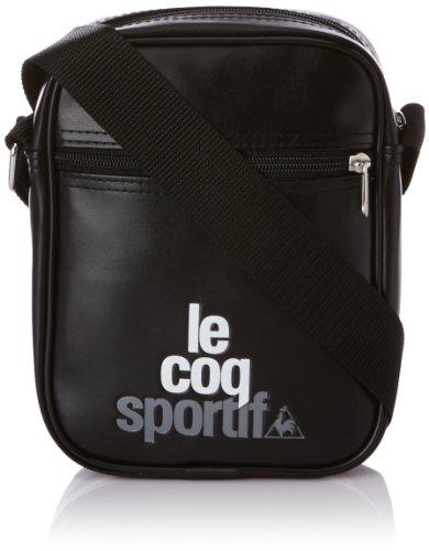 Le coq Sportif Ligne Logo Small Item, Tasche Schwarz (Black)