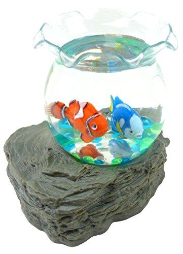 Kinder-Spielzeug Wasserkugel mini Aquarium-Fische Wasser-Kugel Spielzeug waterbowl Clown Doktor Fisch aqua fishes 4813