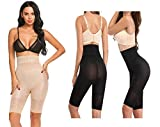 ADA Women Body Shaper High Waisted Tummy Control Shapewear Shorts Seamless Thigh Slimmer
