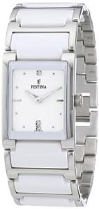Reloj Festina F16536/1 de cuarzo para mujer con correa de acero inoxidable, color multicolor de Festina
